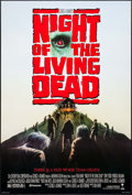 "Movie Posters:Horror, Night of the Living Dead (Columbia, 1990). One Sheet (27"" X 41""). Horror.. ..."