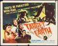 """Movie Posters:Science Fiction, Target Earth (Allied Artists, 1954). Half Sheet (22"""" X 28"""").Science Fiction.. ..."""