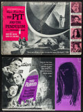 "Movie Posters:Horror, The Pit and the Pendulum & Other Lot (American International, 1961). Cut Pressbooks (2) (Multiple Pages, 21"" X 13.75"" & 20.5... (Total: 2 Items)"