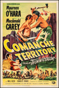 "Movie Posters:Western, Comanche Territory (Universal International, 1950). One Sheet (27"" X 41""). Western.. ..."