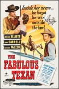 "Movie Posters:Western, The Fabulous Texan (Republic, 1947). One Sheet (27"" X 41""). Western.. ..."