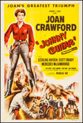 "Movie Posters:Western, Johnny Guitar (Republic, 1954). One Sheet (27"" X 41""). Western....."