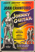 "Movie Posters:Western, Johnny Guitar (Republic, 1954). Poster (40"" X 60""). Western.. ..."