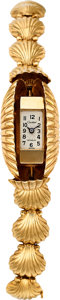 Estate Jewelry:Watches, Retro Swiss Lady's Gold Covered Dial Watch. ...