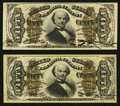 Fractional Currency:Third Issue, Fr. 1324 50¢ Third Issue Spinner Extremely Fine-About New;. Fr. 1338 50¢ Third Issue Spinner Very Fine-Extremely Fine.. ... (Total: 2 notes)