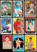 Autographs:Sports Cards, 1952-2003 Baseball Greats Signed Cards Collection (9).. ...