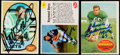 Autographs:Sports Cards, 1960-70 Football Signed Cards Trio - Chuck Bednarik, Raymond Berry and Matt Snell.. ...