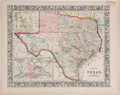 Books:Maps & Atlases, S. Augustus Michell. County Map of Texas....