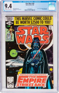 Modern Age (1980-Present):Science Fiction, Star Wars #39 (Marvel, 1980) CGC NM 9.4 Off-white to whitepages....
