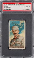 "Baseball Cards:Singles (Pre-1930), 1888 N162 Goodwin ""Champions"" King Kelly PSA VG 3...."