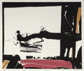 Fine Art - Work on Paper:Print, John Hultberg (1922-2005). Sketch, 1977. Screenprint in colors on paper. 24 x 28-1/4 inches (61.0 x 71.8 cm) (image). 25...