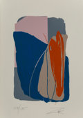 Prints & Multiples, Larry Zox (1936-2006). Untitled 4, circa 1980. Screenprint in colors on paper. 42-1/4 x 29-3/4 inches (107.3 x 75.6 cm) ...