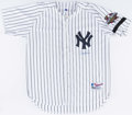 Autographs:Jerseys, Derek Jeter Signed Jersey - With 2001 World Series Patch. . ...