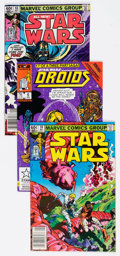 Modern Age (1980-Present):Science Fiction, Star Wars Group of 16 (Marvel, 1982-87) Condition: Average NM-....(Total: 16 Comic Books)