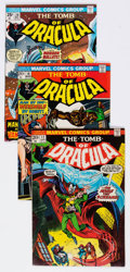 Bronze Age (1970-1979):Horror, Tomb of Dracula Group of 20 (Marvel, 1972-78) Condition: AverageFN/VF.... (Total: 20 Comic Books)