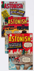Silver Age (1956-1969):Horror, Tales to Astonish UK Editions Group of 5 (Marvel, 1963-64)Condition: Average VG+.... (Total: 5 Comic Books)