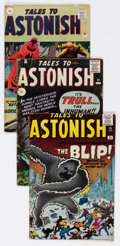 Silver Age (1956-1969):Horror, Tales to Astonish UK Editions Group of 5 (Marvel, 1961-63)Condition: Average GD/VG.... (Total: 5 Comic Books)