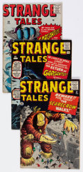 Silver Age (1956-1969):Horror, Strange Tales UK Editions Group of 5 (Marvel, 1961-62) Condition:Average GD/VG.... (Total: 5 Comic Books)