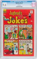Silver Age (1956-1969):Humor, Jughead's Jokes #1 Curator Pedigree (Archie, 1967) CGC NM+ 9.6 White pages....