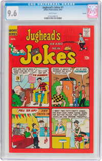Jughead's Jokes #1 Curator Pedigree (Archie, 1967) CGC NM+ 9.6 White pages