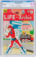 Silver Age (1956-1969):Humor, Life With Archie #42 (Archie, 1965) CGC NM 9.4 White pages....
