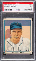 Baseball Cards:Singles (1940-1949), 1941 Play Ball Pee Wee Reese #54 PSA EX 5....