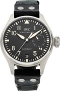 Estate Jewelry:Watches, IWC Gentleman's Big Pilot Stainless Steel Watch. ...