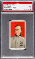 Baseball Cards:Singles (Pre-1930), 1909-11 T206 Old Mill Ty Cobb (Red Portrait) PSA VG 3....