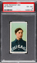Baseball Cards:Singles (Pre-1930), 1909-11 T206 Piedmont 350 Ed Walsh PSA EX-MT 6.  W...