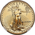 1990 $10 Quarter-Ounce Gold Eagle MS70 NGC....(PCGS# 9840)