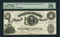Confederate Notes:1861 Issues, T8 $50 1861 PF-8 Cr. 20.. ...