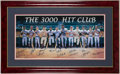 Autographs:Photos, 3,000 Hit Club Signed Lithograph. . ...