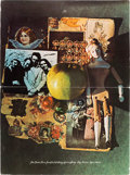 "Music Memorabilia:Posters, Beatles ""Joy"" Holiday Greeting Poster (Apple, 1970). ..."