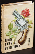 "Movie Posters:James Bond, From Russia with Love by Ian Fleming (Macmillan, 1957). FirstEdition US Hardcover Book (Approx. 5"" X 7.5""). James Bond...."