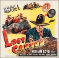"Movie Posters:Western, Lost Canyon (United Artists, 1942). Six Sheet (81"" X 79.5"").Western.. ..."