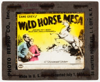 """Wild Horse Mesa & Other Lot (Paramount, 1925). Glass Slides (2) (3.25"""" X 4""""). Western. ... (Total: 2 Items..."""