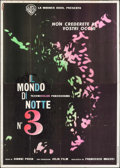 "Movie Posters:Documentary, Ecco (Warner Brothers, 1963). Italian 4 - Fogli (55"" X 77.5""). Documentary.. ..."