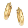 Estate Jewelry:Earrings, Gold Earrings, Elizabeth Locke. ...