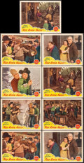 """Movie Posters:Western, Red River Valley (Republic, R-1940s). Lobby Cards (9) (11"""" X 14""""). Western.. ... (Total: 9 Items)"""