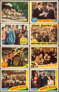 "Melody Ranch & Others Lot (Republic, 1940). Lobby Cards (15) (11"" X 14""). Western. ... (Total: 15 Item..."