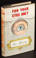 """Movie Posters:James Bond, For Your Eyes Only by Ian Fleming (Jonathan Cape, 1960). First Edition British Hardcover Book (252 Pages, 5"""" X 8""""). James Bo..."""
