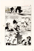 Original Comic Art:Panel Pages, Neal Adams and Dick Giordano Batman: Stacked Cards [Book andRecord Set] #PR27 Story Page 16 Joker Original Art (P...