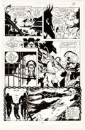 Original Comic Art:Panel Pages, Steve Rude and Gary Martin Nexus: The Origin (nn) Story Page39 Dave of Thune Original Art (Dark Horse, 1992)....