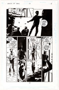 Original Comic Art:Panel Pages, Peter Snejbjerg Books of Magic #12 Page 6 Original Art(DC/Vertigo, 1995)....
