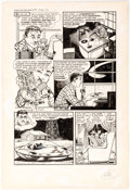 Original Comic Art:Panel Pages, Bob Powell Race for the Moon #1 Story Page 2 Original Art(Harvey Comics, 1958)....