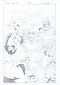 Original Comic Art:Covers, Carlos Rafael Queen Sonja #18 Cover Original Art (DynamiteEntertainment, 2011)....