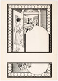 Original Comic Art:Illustrations, Edgar Church Dry Cleaning Advertisement Original Art (ChurchStudio, c. 1930s)....