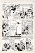 Original Comic Art:Panel Pages, Mark Bagley and Keith Williams Web of Spider-Man #53 Page 4Original Art (Marvel, 1989)....
