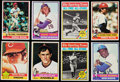 Baseball Cards:Lots, 1976 Topps Baseball Collection (1450+).. ...