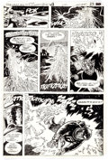 Original Comic Art:Panel Pages, Tenny Henson and Jerry Serpe Secrets of Haunted House #43Story Page 5 Original Art (DC Comics, 1981)....
